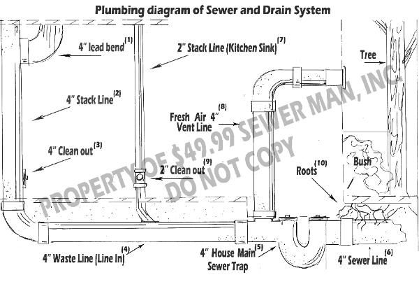 Waste Line For Toilet Waste Lines Drain Into